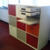 Office Hot Desking Storage