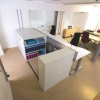 Desk Height Mobile Shelving
