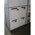 Hot Desking lockers with combination locks