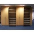 Built in Office Storage Cupboards