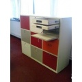 Office Hot Desking Cupboards and Lockers